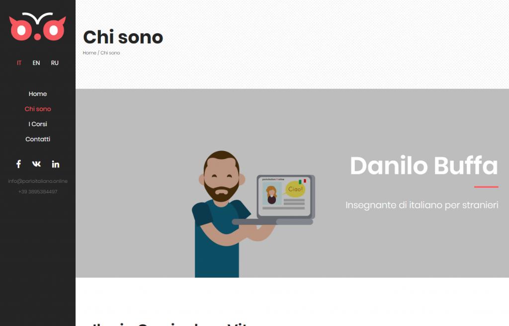 Lezioni di italiano per stranieri online Parlo Italiano