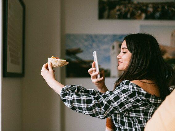 cibo pizza donna